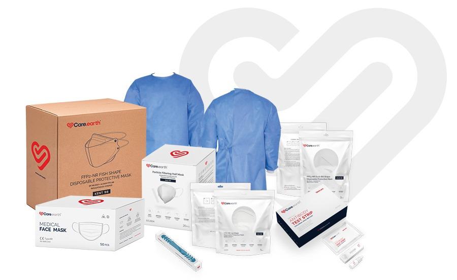 Vcarehi.com Respirators, Face Masks, Covid19 Rapid Test